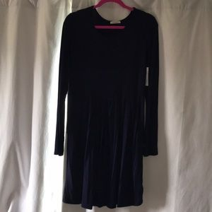 NWT Long Sleeve Navy Blue Dress